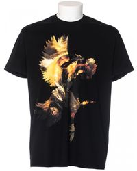 Givenchy T-Shirt Fit Columbian Printed black - Lyst