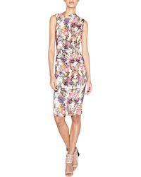 Nicole Miller Artelier Sleeveless Tutti Frutti Sheath Dress - Lyst