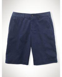 Ralph Lauren Linen-Cotton Short - Lyst