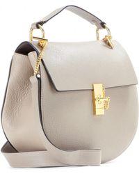 Chloé Drew Leather Shoulder Bag - Lyst
