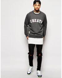 Cheats & Thieves - Nifty Crew Sweatshirt - Lyst
