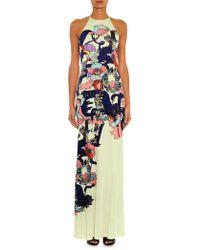 Mary Katrantzou Poppies Liquorice-print Jersey Dress - Lyst