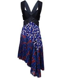 Stella McCartney Blue Letitia Dress - Lyst