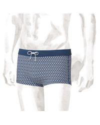 Hermes Two-tone Jersey Swim Briefs - Lyst