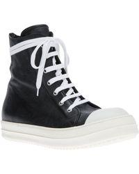 Rick Owens Ramones Hitop Sneaker - Lyst