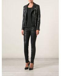 Current/Elliott Textured Skinny Jeans - Lyst