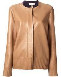 Marni Ribbed Detail Jacket - Lyst