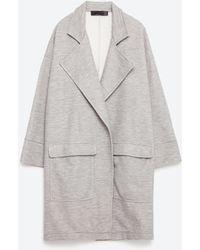 Zara | Oversized Coat | Lyst