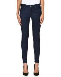Acne Studios Skin 5 Skinny Mid-rise Jeans - Lyst
