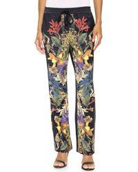 StyleStalker - I'M Still Yours Trousers - Dark Floral - Lyst