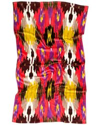 Natori Red Sahana Ikat Beach Towel - Lyst