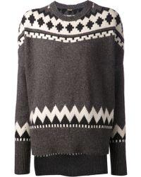 Adam Lippes Crew Sweater - Lyst