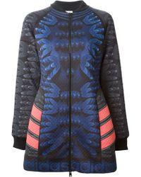 Adidas Mary Katrantzou X Originals Coat - Lyst