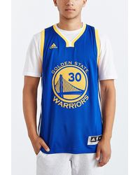 Adidas Golden State Warriors Stephen Curry Away Jersey - Lyst