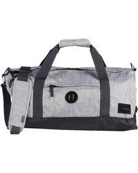 Nixon Luggage gray - Lyst