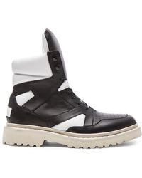 CALVIN KLEIN 205W39NYC - Alam Shatoosh Leather Shoes - Lyst