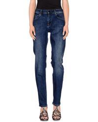 Victoria Beckham | Denim Trousers | Lyst