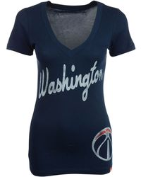 Sportiqe - Women's Short-sleeve Washington Wizards V-neck T-shirt - Lyst