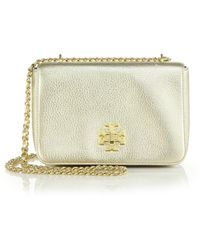 Tory Burch Mercer Chain Shoulder Bag gold - Lyst