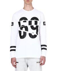 Hood By Air 69 Long-sleeved Top - Lyst