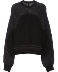 Azede Jean-Pierre - Brushed Rib Pull Over - Lyst