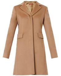 Max Mara Studio Ninetta Wool Coat beige - Lyst