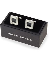 Mach Speed - Dotted Square Cuff Links - Lyst