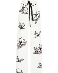 Roland Mouret   Morely Gardenia Trousers   Lyst