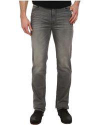 Calvin Klein Jeans Straight Leg Jeans in Marine Gray D - Lyst