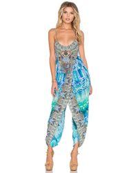 Camilla - Wrap Waist Jumpsuit - Lyst