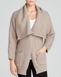 Vince Camuto Chunky Knit Cardigan - Lyst