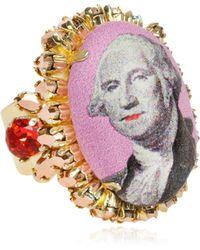 Bijoux De Famille - Large Funky Dollar Ring - Lyst