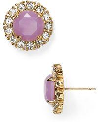 Kate Spade Secret Garden Stud Earrings - Lyst