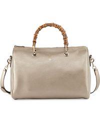 Gucci Bamboo Shopper Medium Boston Bag - Lyst