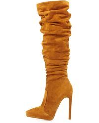 Jeffrey Campbell Alamode Slouch Knee Boot - Lyst