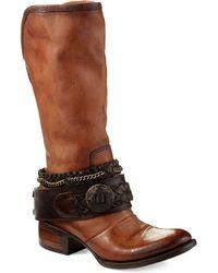 Freebird by Steven Leather Brek Boots - Lyst