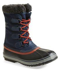 Sorel '1964 Pac' Snow Boot blue - Lyst