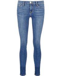 Frame Denim   'le Skinny De Jeanne' Whiskered Jeans   Lyst