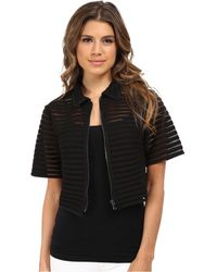 Nanette Lepore Barely There Jacket - Lyst