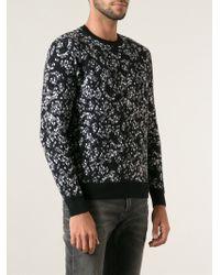 Kris Van Assche Confetti Pattern Sweater - Lyst