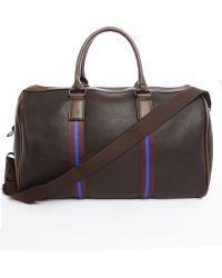 Ted Baker | Brown Batton Contrasting Pu Weekend Bag | Lyst