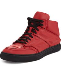 Alejandro Ingelmo Exotron Leather Sneaker red - Lyst