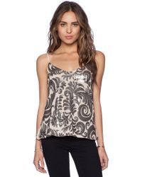 Capulet Embroidered Baroque Camisole - Lyst
