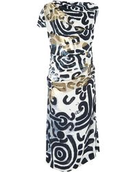 Vivienne Westwood Anglomania Shaman Print Dress - Lyst
