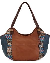 The Sak Indio Leather Satchel - Lyst