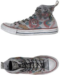Converse High-Tops & Trainers gray - Lyst