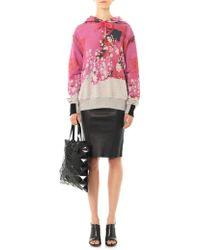 Preen By Thornton Bregazzi - Splash-print Hooded Sweatshirt - Lyst