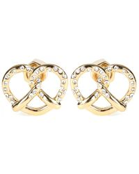 Marc By Marc Jacobs - Salty Pretzel Stud Earrings - Lyst