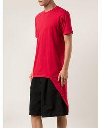 Comme Des Garçons Long Tshirt - Lyst