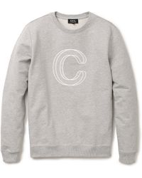 A.P.C. C Sweatshirt - Lyst